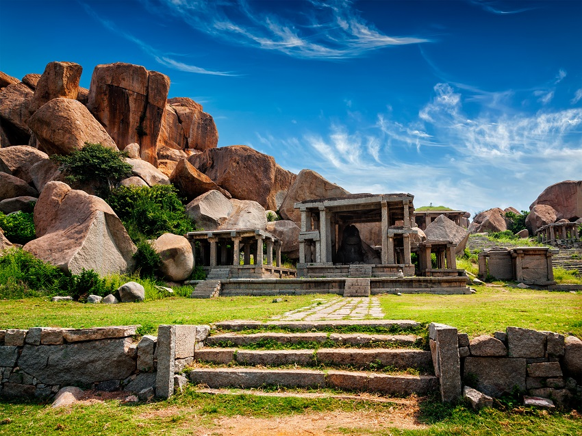 Embark on a Luxury Train Journey to Hampi & Explore the 'Jewels of South' with The Golden Chariot